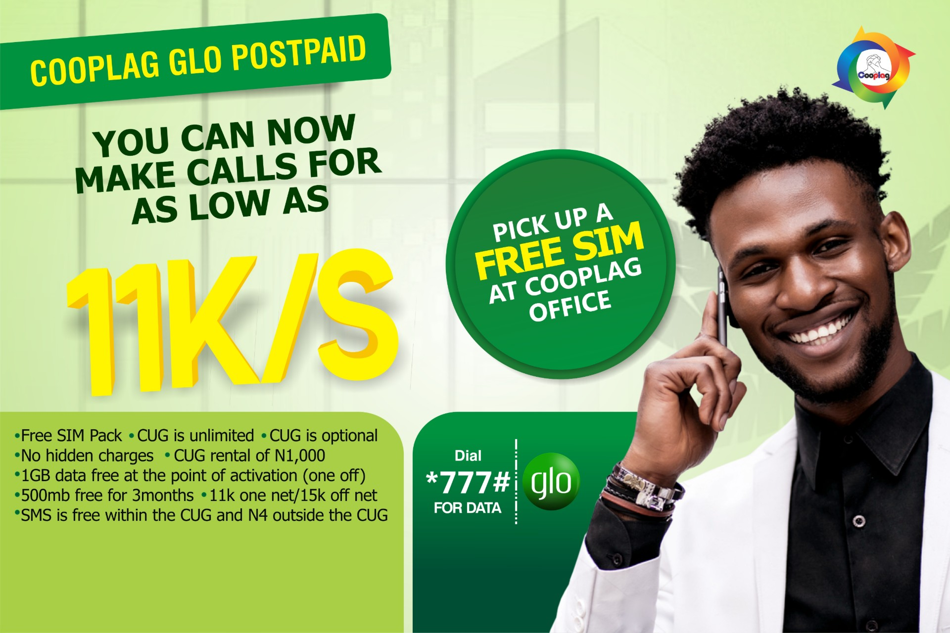 COOPLAG GLO POSTPAID